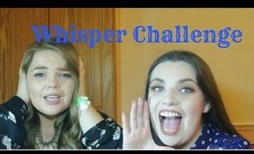 The Whisper Challenge with ChasingRubyChat | NiamhDillonMakeup