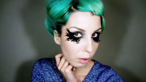 My Chanel Spring 2013 Couture inspired look from my youtube video tutorial.