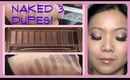 DUPES: Naked 3 Palette Swatches & Review!