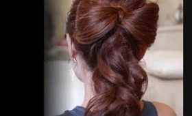 Beautiful Wedding Hair Bow Tutorial