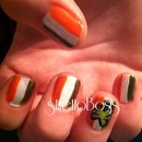 St. Patrick's Day Flag Nails
