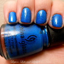 China Glaze Blue Sparrow