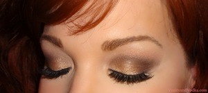 """New blog post/ makeup look for the week featuring the beautiful palette """"World Famous Neutrals- Most Glamorous Nudes Ever"""" by Benefit Cosmetics :-)  Hope you have a great week! xoxo, Colleen  http://www.vanityandvodka.com/2013/02/kiss-me-im-tipsy.html"""