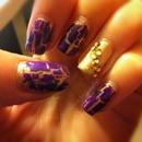 Purple shatter