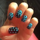 Black and blue inverted dots :)