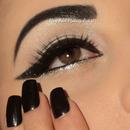 Winged Glitter Eyeliners