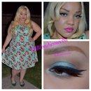Mint Green Eyeshadow and Glitter