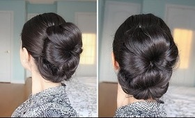 Double Bun Hairstyle