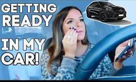 GET READY IN MY CAR WITH ME | Casey Holmes