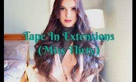 DIY Tape-In Extensions | MorganEstALaMode
