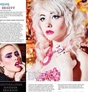 Make Up Artsitry : Myself Model : Isabella Starr Photographer : JErickson Photo Designer : Strange Vixens Inc